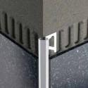 DIADEC - Aluminum edge profile with chamfer