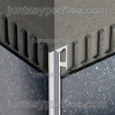INDEC - Angle-shaped aluminum edge profile