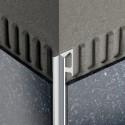 INDEC - Angle-shaped aluminum edge profile