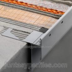 BARA-RAKE - Acquascivolo in alluminio per lastre DITRA