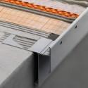 BARA-RAKE - toboágua de alumínio para chapa DITRA