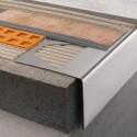 BARA-RW - Vierteaguas de aluminio con forma de L