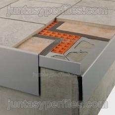 BARA-RAP - Profilo in alluminio laccato all'asta