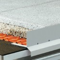BARA-RKL - Aluminum balcony gutter