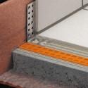 BARA-ESOT - Profilo portante battiscopa in acciaio inossidabile