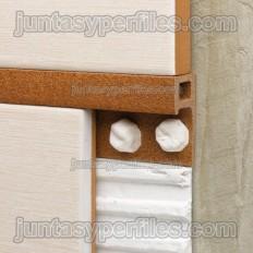 Novolistel Maxi - Profilé carré de bordure décorative