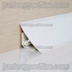 Profilé sanitaire PVC ou profil demi-rond