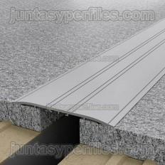 Tapajunta Aluminio Adhesivo plano B/3m