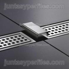 KERDI-LINE-FC - Grille splice for construction shower trays