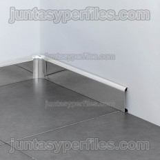 Novorodapie Inox - Stainless steel skirting board
