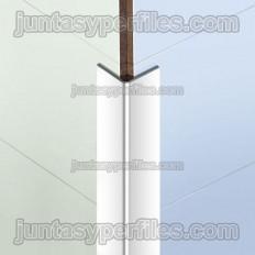 Novoesquadra Aluminio - Profil d'angle en aluminium se chevauchant