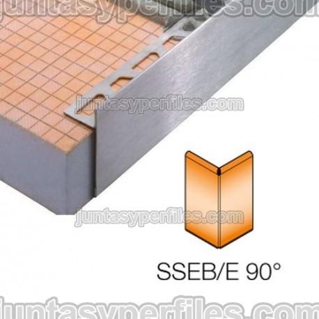 SCHIENE-STEP-EB - Cantonera en acero inoxidable para encimera - Ángulo externo 90º
