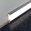 DESIGNBASE-QD - Rodapé LED em alumínio