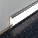 DESIGNBASE-QD - Aluminum skirting board or valance profile