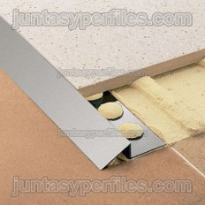 Novonivel - Rampe de transition en aluminium
