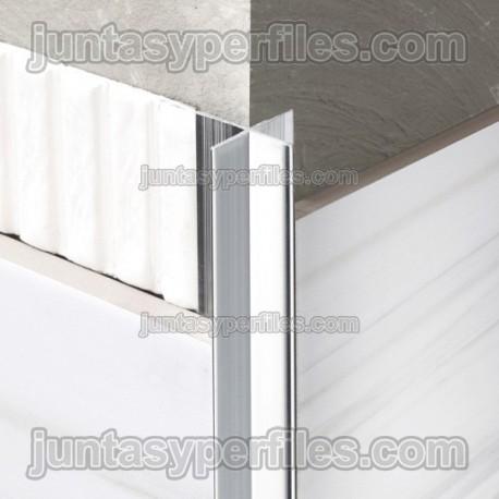 Novopilastra - Cantoneras de aluminio en ángulo recto - Croquis