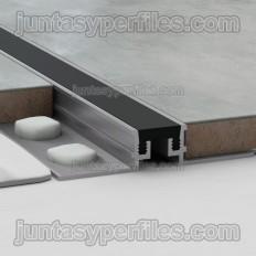 Novojunta Metaflex - Aluminum and silicone expansion joints