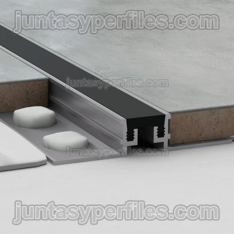 Novojunta Metaflex - Junta de dilatación de aluminio y EPDM