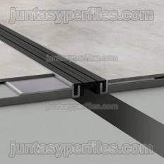 Novojunta Pro Basic Slim - Junta estructural de aluminio ultra fina - Croquis