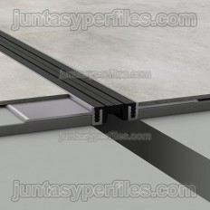 Novojunta Pro Basic Slim - Ultra thin aluminum structural joint