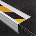 Novopeldaño Safety - Stair nosing profile with non-slip tape