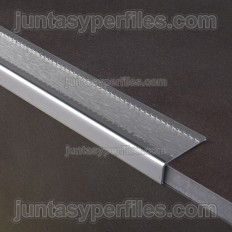 Sobrepeldaño aluminio antideslizante seguridad