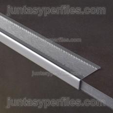 Perfiles para escaleras antideslizante de acero inoxidable Novopeldaño
