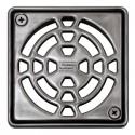 KERDI-DRAIN 1 A - Screwable 10x10 cm stainless steel drain grate