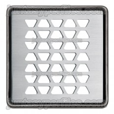 KERDI-DRAIN 2 - Rejilla sumidero de acero inoxidable de 10x10 cm