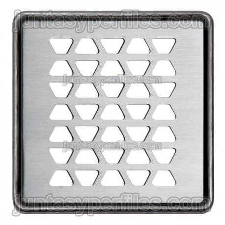 KERDI-DRAIN - Rejilla 10x10 cm en acero inoxidable