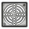 KERDI-DRAIN 1 E - Grelha de drenagem de aço inoxidável de 15x15 cm