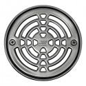 KERDI-DRAIN 1 - Rejilla circular de acero inoxidable de diámetro 15 cm atornillable