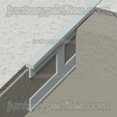 Perfil separador para pavimentos y terrazos de latón - Novosepara 1