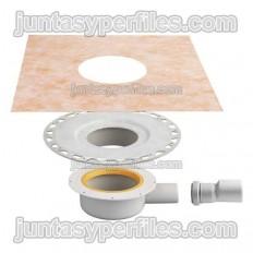KERDI-DRAIN-BASE KDBH40 - Bunera plat de dutxa sortida horitzontal per a interior
