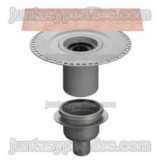 KERDI-DRAIN KDBV50GVB - Embornal plat dutxa sortida vertical i sifó per a interior DN50