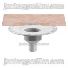 KERDI-DRAIN KDBV - Cazoleta para sumidero plato de ducha salida vertical para exterior