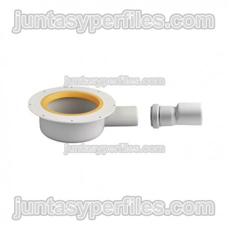 Bote de sumidero de salida horizontal 40/50 mm KERDI-DRAIN-BASE