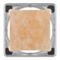 KERDI-DRAIN 4 - Grelha de drenagem oculta sob piso de 10x10 cm