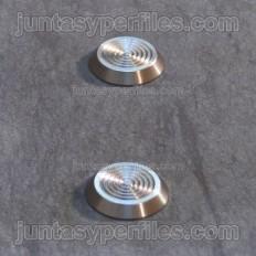 Stairtec SWP - Bouton Podotact en acier inoxydable