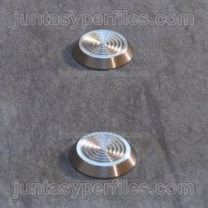 Stairtec SWP - Stainless Steel Podotact Button