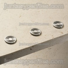 Stairtec SWR - Extra-flat stainless steel touch button