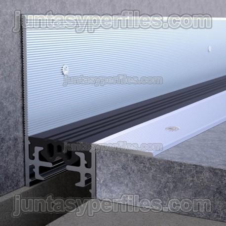 Novojunta Pro Antideslizante Perimetral - Junta de dilatación estructural sobrepuesta
