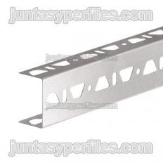 KERDI-BOARD-ZB - Perfil d'acer inoxidable en forma d'U amb triple perforació