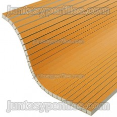 Paneles de poliestireno extruido para paredes curvas KERDI-BOARD-V