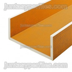 KERDI-BOARD-U - U-extruded polystyrene sheets for pipe coverings