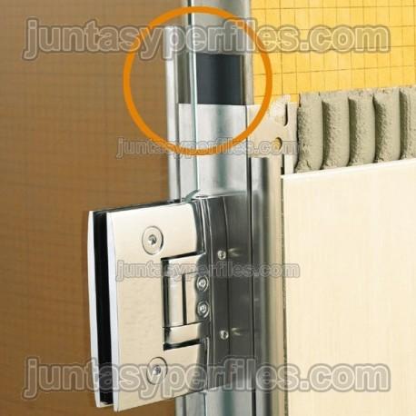 Perfil plano de PVC para paneles de poliestireno KERDI-BOARD-ZFP