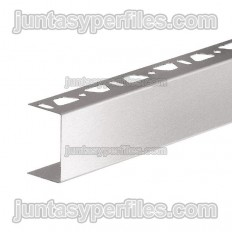 KERDI-BOARD-ZA - U-shaped stainless steel profile with simple perforation