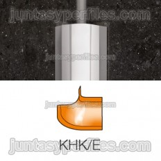 ECK-KHK - external angle for stainless steel cove-shaped profile