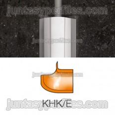 ECK-KHK - angolo esterno per acciaio inossidabile Profilo