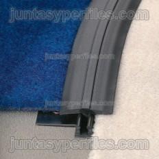 Multicurve CFD - Cantonera de remate en rampa de resina para moqueta